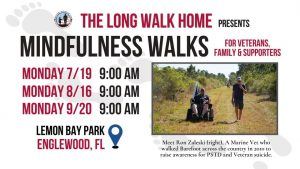 The Long Walk Home Presents Mindfulness Walks For Veterans