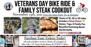 Veterans Day Bike Ride - Ticket For A Veteran